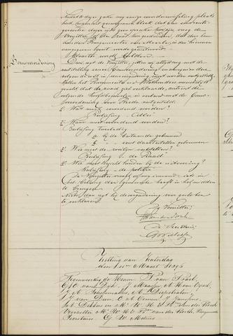 Ginneken en Bavel - Notulen van de gemeenteraad 1896-01-01