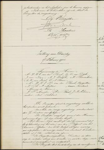 Ginneken en Bavel - Notulen van de gemeenteraad 1903-01-01