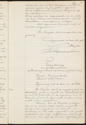 Teteringen - Notulen en bijlagen van de gemeenteraad 1937
