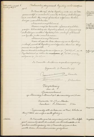Teteringen - Notulen en bijlagen van de gemeenteraad 1948