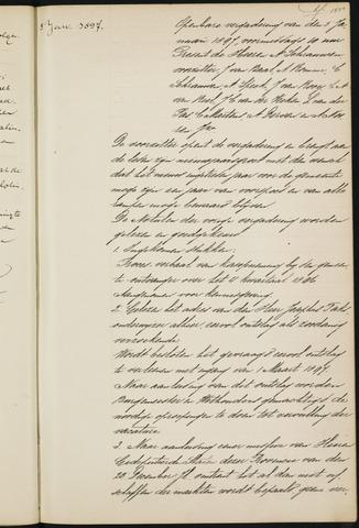 Princenhage - Notulen van de gemeenteraad 1897