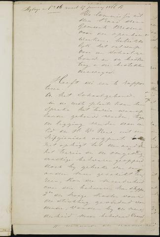 Breda - Bijlagen bij de notulen van de gemeenteraad 1866-01-01