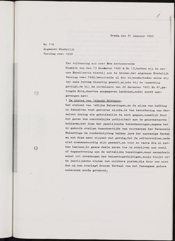 Breda - Verslagen van de toestand van de gemeente 1849-01-01
