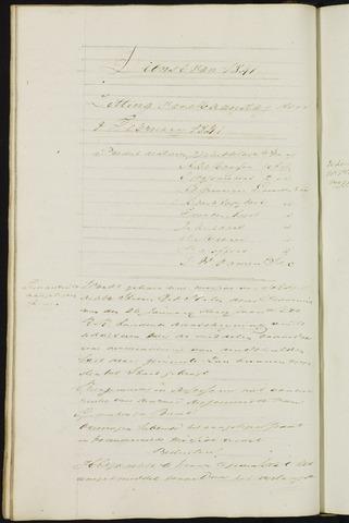 Ginneken en Bavel - Notulen van de gemeenteraad 1841-01-01
