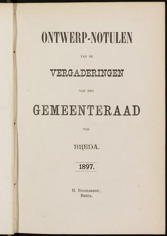 Breda - Notulen van de gemeenteraad 1897-01-01