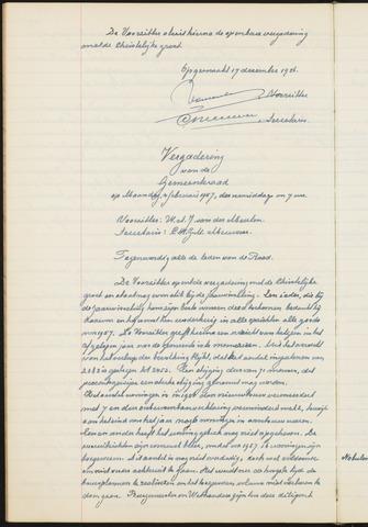 Teteringen - Notulen en bijlagen van de gemeenteraad 1957
