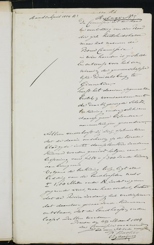 Breda - Bijlagen bij de notulen van de gemeenteraad 1884