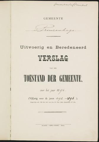 Princenhage - Verslagen van de toestand van de gemeente 1896