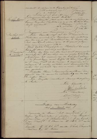 Ginneken en Bavel - Notulen van de gemeenteraad 1887-01-01