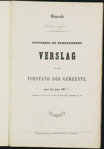 Teteringen - Verslagen van de toestand van de gemeente 1867