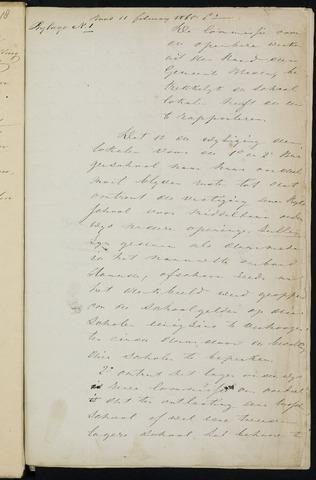 Breda - Bijlagen bij de notulen van de gemeenteraad 1865