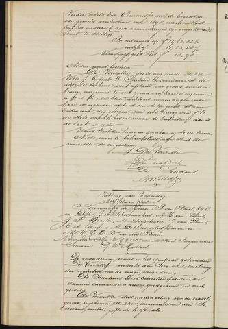 Ginneken en Bavel - Notulen van de gemeenteraad 1898-01-01