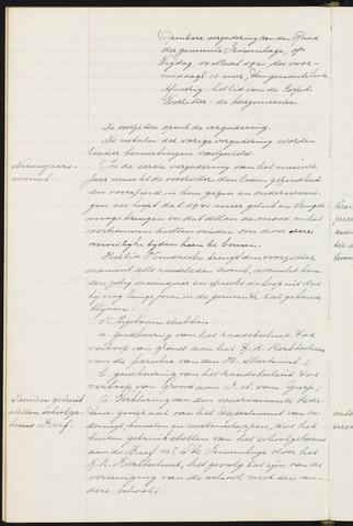 Princenhage - Notulen van de gemeenteraad 1941