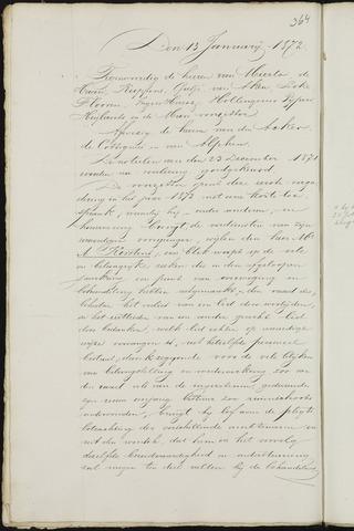 Breda - Notulen van de gemeenteraad 1872-01-01