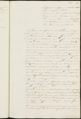 Princenhage - Notulen van de gemeenteraad 1843