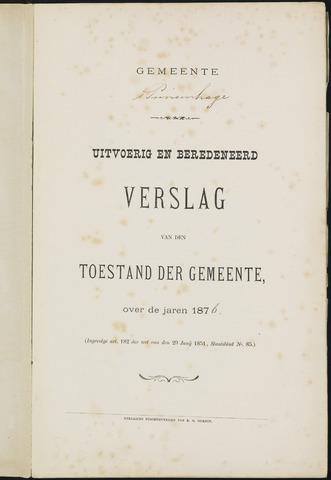 Princenhage - Verslagen van de toestand van de gemeente 1876-01-01