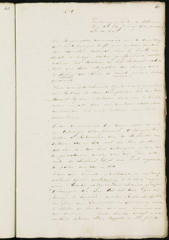Princenhage - Notulen van de gemeenteraad 1820