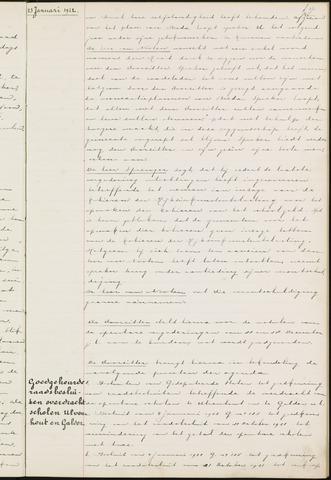 Ginneken en Bavel - Notulen van de gemeenteraad 1922-01-01