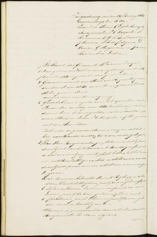 Princenhage - Notulen van de gemeenteraad 1841