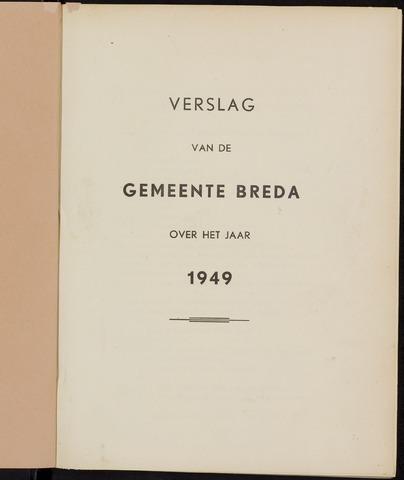 Breda - Verslagen van de toestand van de gemeente 1949