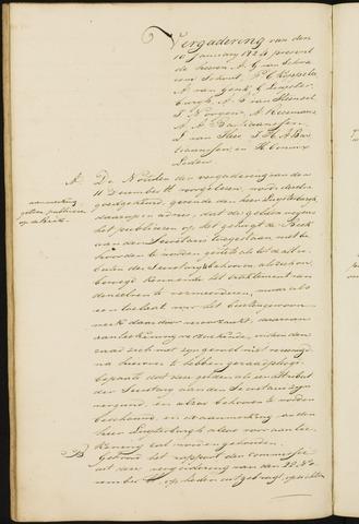 Princenhage - Notulen van de gemeenteraad 1824-01-01