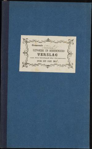 Princenhage - Verslagen van de toestand van de gemeente 1866