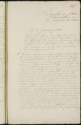 Breda - Notulen van de gemeenteraad 1847-01-01