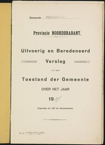 Princenhage - Verslagen van de toestand van de gemeente 1927