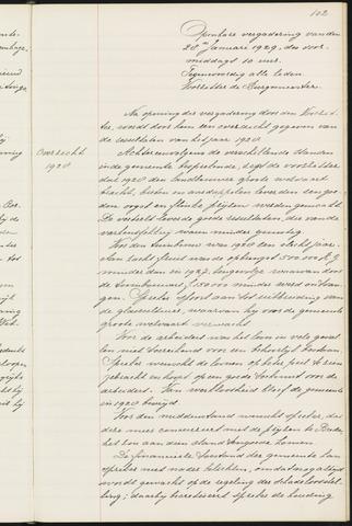 Princenhage - Notulen van de gemeenteraad 1929-01-01