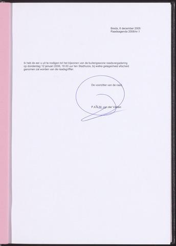 Breda - Bijlagen bij de notulen van de gemeenteraad 2005-12-08