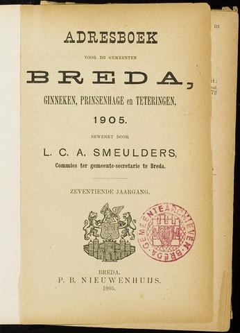 Adresboeken 1905-01-01