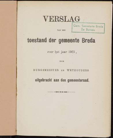 Breda - Verslagen van de toestand van de gemeente 1901