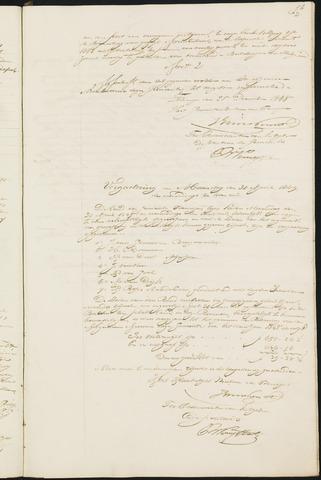 Teteringen - Notulen en bijlagen van de gemeenteraad 1849