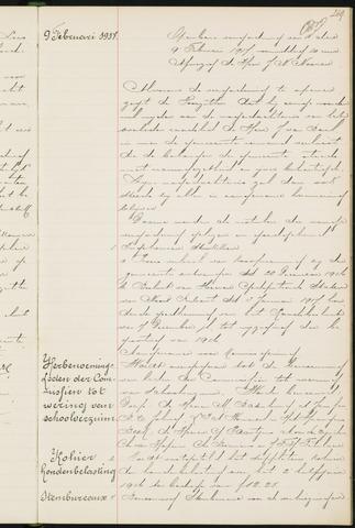 Princenhage - Notulen van de gemeenteraad 1917-01-01