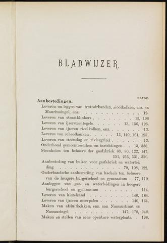 Breda - Indexen op de notulen van de gemeenteraad 1901-01-01