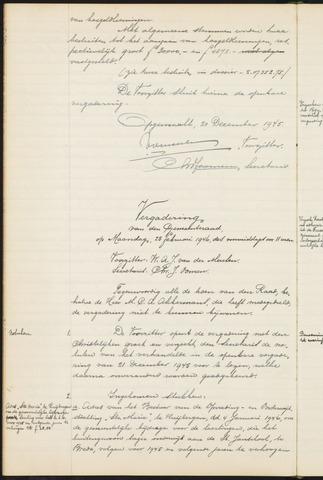 Teteringen - Notulen en bijlagen van de gemeenteraad 1946