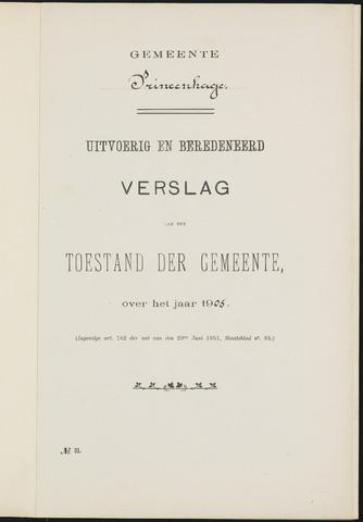 Princenhage - Verslagen van de toestand van de gemeente 1905