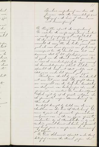 Princenhage - Notulen van de gemeenteraad 1923-01-01