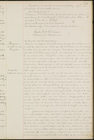 Ginneken en Bavel - Notulen van de gemeenteraad 1917-01-01