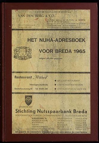 Adresboeken 1965-01-01