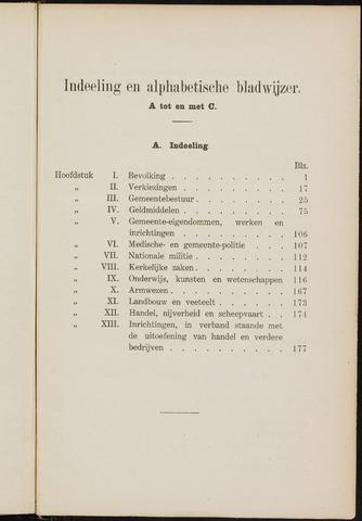 Breda - Verslagen van de toestand van de gemeente 1910
