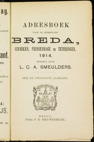Adresboeken 1914-01-01