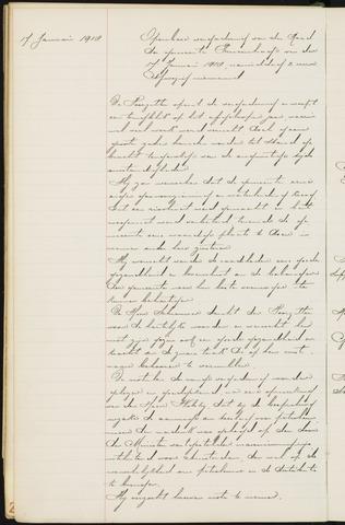 Princenhage - Notulen van de gemeenteraad 1918