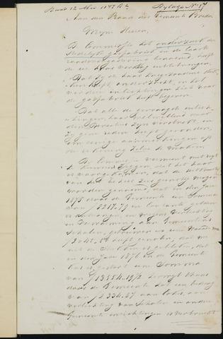 Breda - Bijlagen bij de notulen van de gemeenteraad 1877