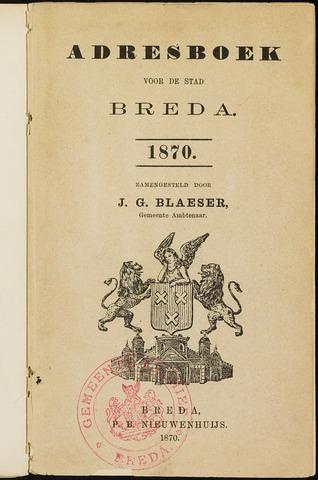 Adresboeken 1870-01-01
