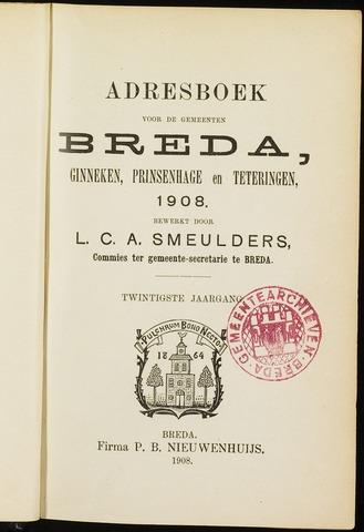 Adresboeken 1908-01-01