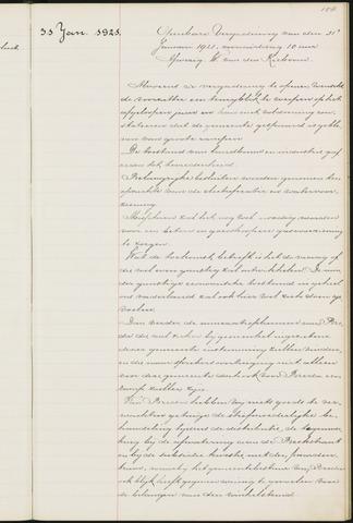 Princenhage - Notulen van de gemeenteraad 1921