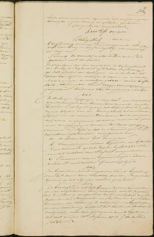 Teteringen - Notulen en bijlagen van de gemeenteraad 1857