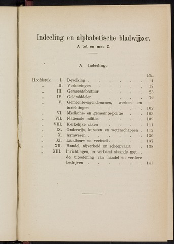 Breda - Verslagen van de toestand van de gemeente 1911