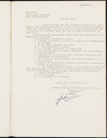 Prinsenbeek - Bijlagen bij de notulen van de gemeenteraad 1946